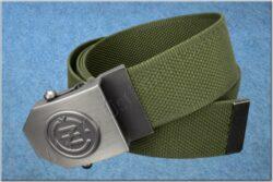 belt ČZ / textile khaki - size 150cm(930817)