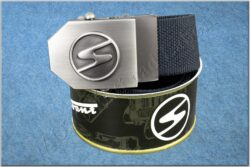 belt TRABANT / textile black - size 150cm