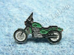 Pin badge JAWA 650 Classic (green)