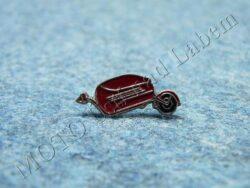 Pin badge PAV (red)