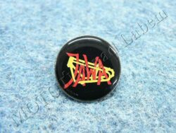 Pin badge JAWA (old logo frame) - black