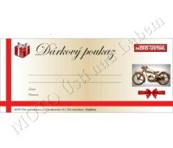 Gift voucher - nominal price 1000 CZK
