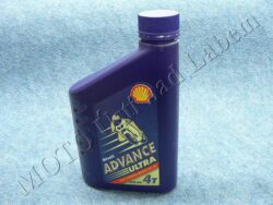 Engine oil 4T ULTRA 4 10W-40 Shell Advance (1L)