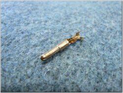 Bullet banana connector male 3,0 ( UNI )
