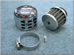 Air filter racing  D28, intake, w/ cover ( UNI,Sim ) cone little  (990478)