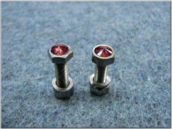 Decorative bolts M5x16 ( UNI ) set 2pcs.